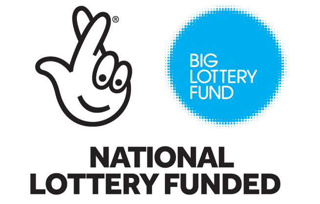 Lottery Funded Blue Logo